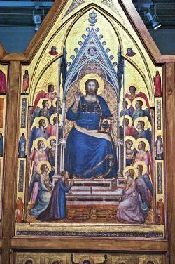 Cristo Rei, de Giotto